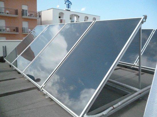 Hotel Sole : Pannelli solari