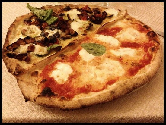 Cigno Blu  Ristorante Pizzeria: squisita pizza
