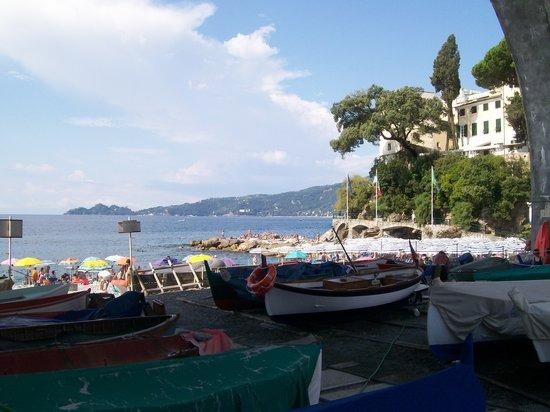 Zoagli, Italie : la passeggiata