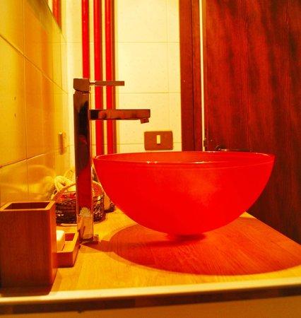 B&B Weeping Willow: Bathroom