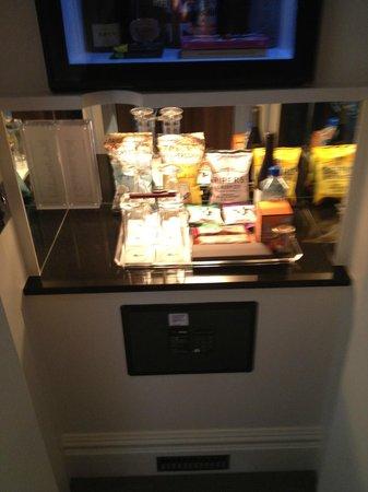 Knightsbridge Hotel: minibar