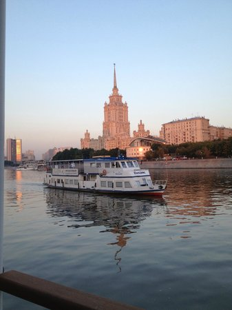 Radisson Royal Hotel Moscow: L'Hotel di giorno