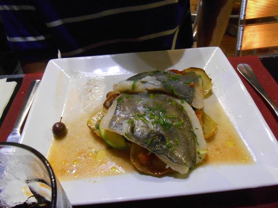 Officina del Gusto : Smagløs fisk !