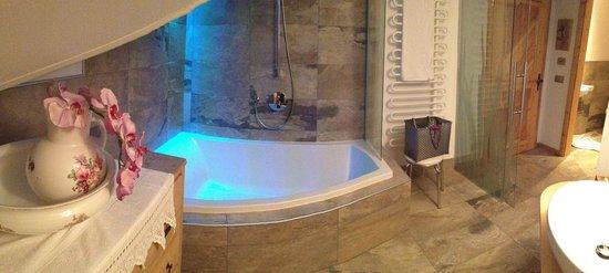 Hotel Garni Laurino: Bagno suite Natura