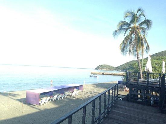 Hotel Tequendama Inn Santa Marta by Sercotel: Vistas desde el restaurante