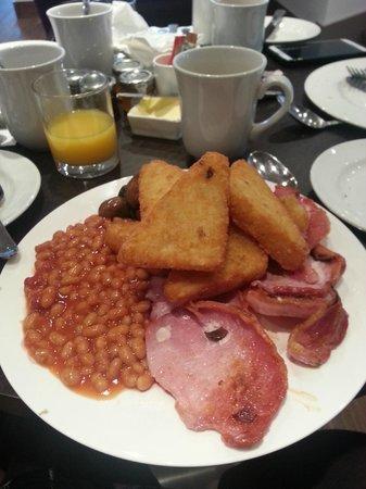 Aubrey Park Hotel: Hash browns were good!!! Breakfast