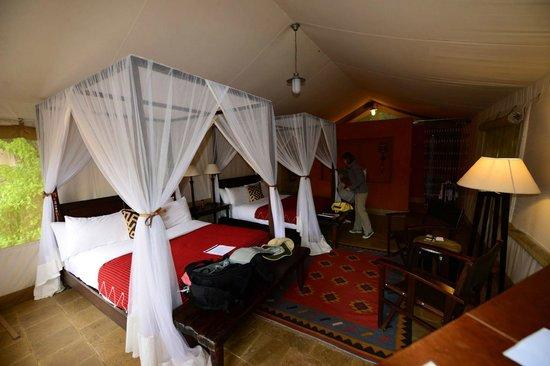 Fairmont Mara Safari Club: Tent