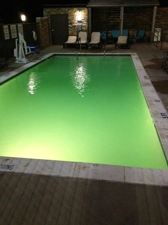‪هوليداي إن إكسبرس هوتل آند سويتس روكبورت: The Green pool‬