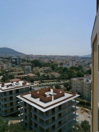 Ida Apart Hotel: Bild tagen från balkongen. vån 6