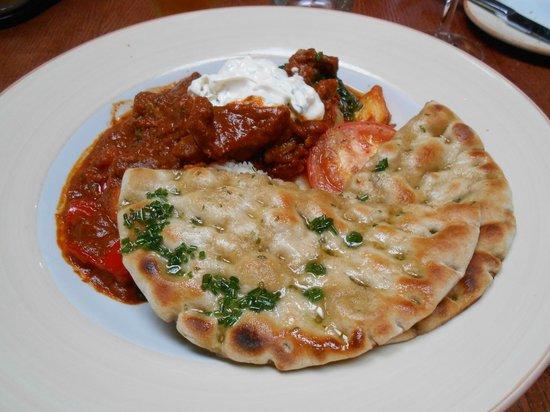 Carrick Lodge Restaurant: Spicy lamb casserole