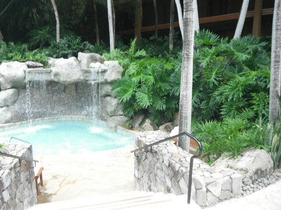 Four Seasons Resort Costa Rica at Peninsula Papagayo: Hot tub area