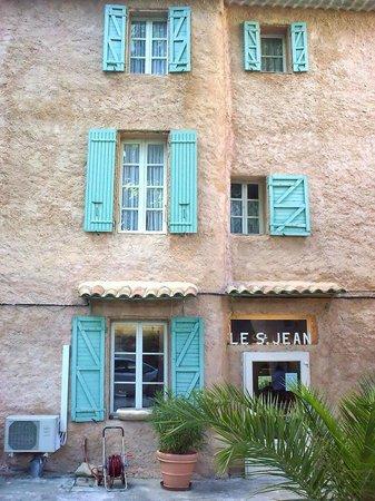 Hotel Saint Jean: entrén