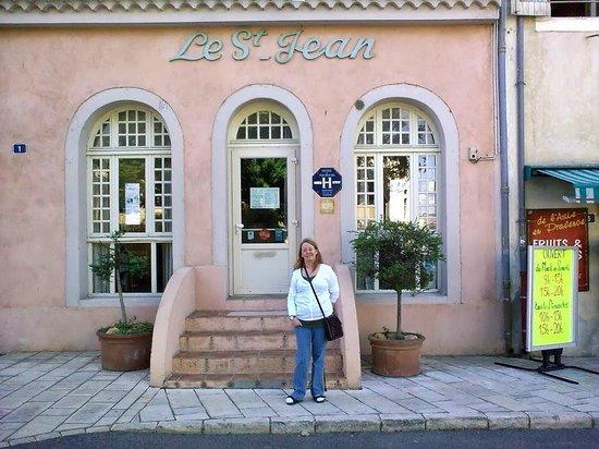 Hotel Saint Jean: fasad mot gatan