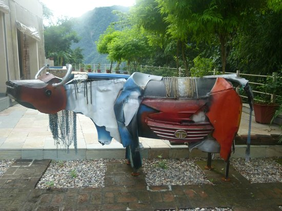 Atali Ganga : Display at the Entrance