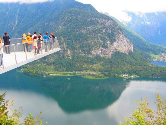 Pension Hallberg: Sky look out (above Hallstatt)