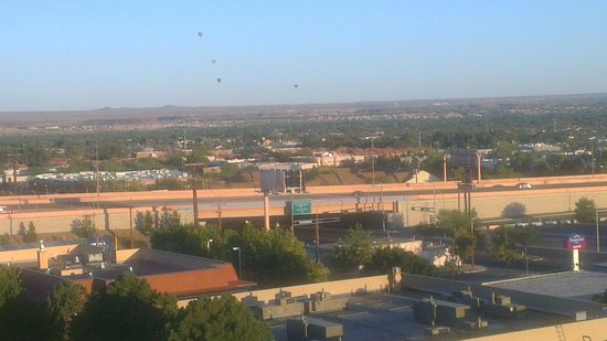 Crowne Plaza Albuquerque: Vista del 10 piso