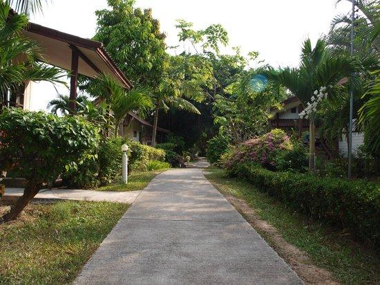 Coco Palm Beach Resort: Bungalowanlage
