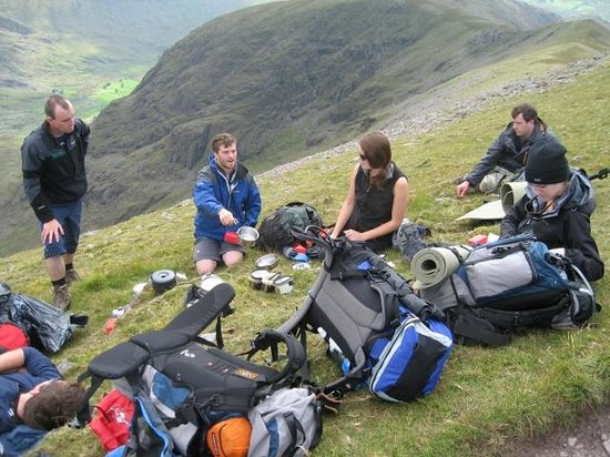 Ballygarvan, Irlanda: Learning how to cook on the mountain