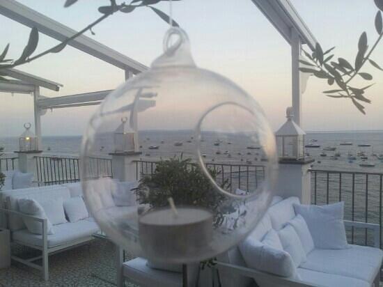 il lounge bar Fly, sopra al ristorante - Picture of Le Terrazze ...