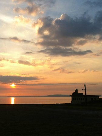 The Promenade Hotel: View from Promenade hotel as the sun set