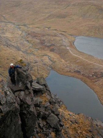Ballygarvan, Ireland: Climbing Howling Ridge on Carrauntoohill