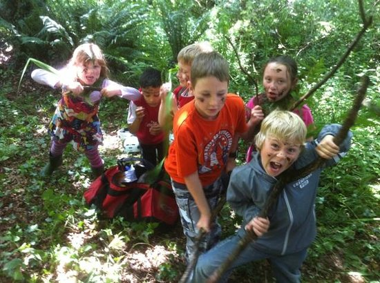 Will and Away: Family fun in the forest
