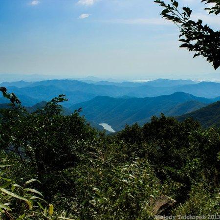 Mudeungsan National Park: The view on the way up
