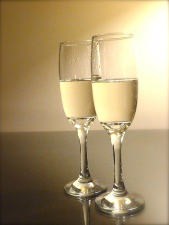 ARC The Hotel: Glass of bubbly when you arrive.