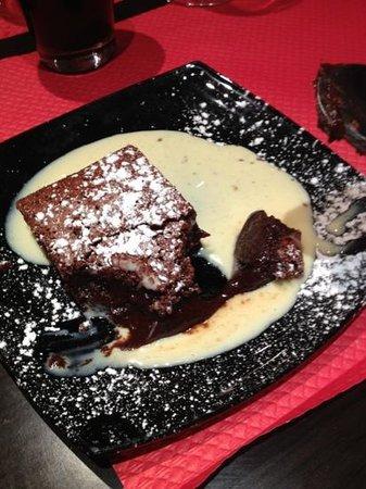 Café des Halles : dessert chocolat!