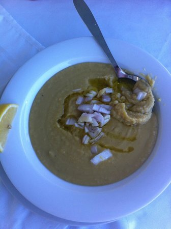 Aquarius : Sopa de judia y cebolla