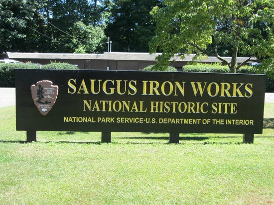 Saugus Iron Works: Entrance