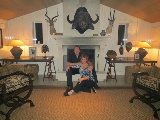 Huka Lodge: Dinner in the Game Room