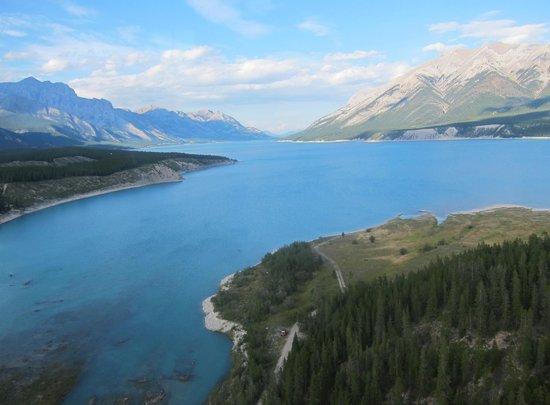 Rockies Heli Canada: Heli tour over Abraham Lake