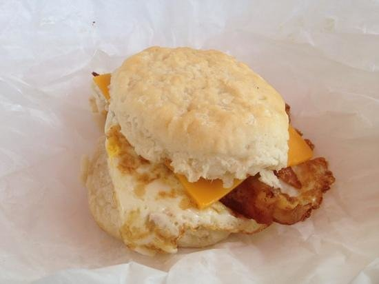 1d69b04525afd Bacon, Egg, and Cheese Biscuit - Picture of Flip Flops, Seagrove ...