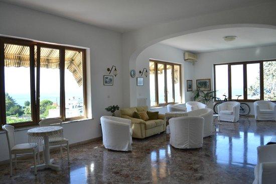 Hotel Parco Conte: Il salotto