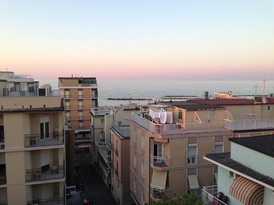 Hotel Romantico: Vista dalla terrazza..