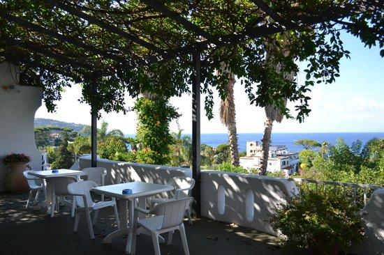 Hotel Parco Conte: La veranda