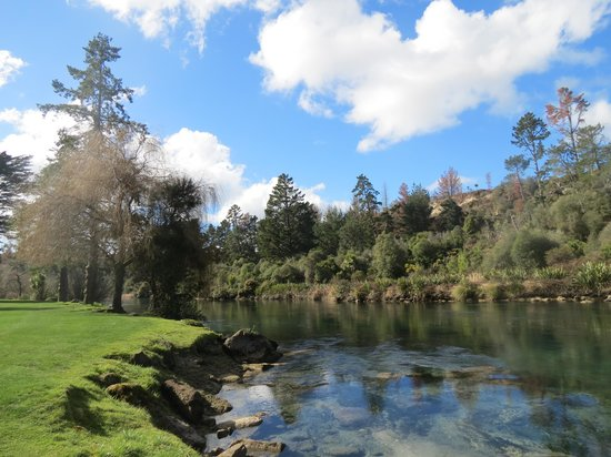 Huka Lodge : Beautiful property !