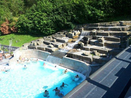 La piscina termale picture of roseo euroterme wellness resort bagno di romagna tripadvisor - Euroterme bagno di romagna piscina ...