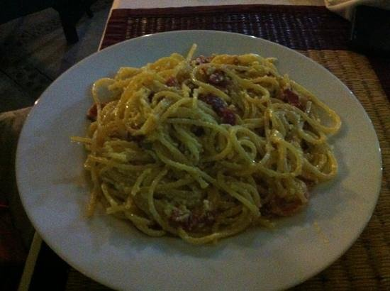 The Empire Guesthouse : carbonara DOC