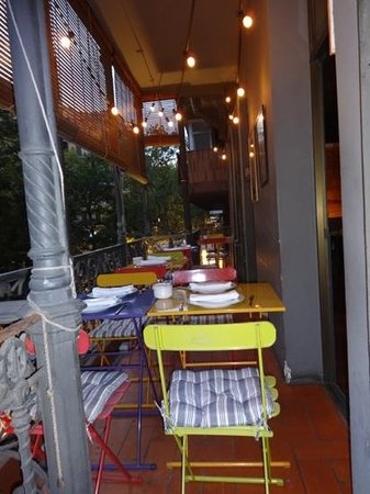 Alba Granados: balcon