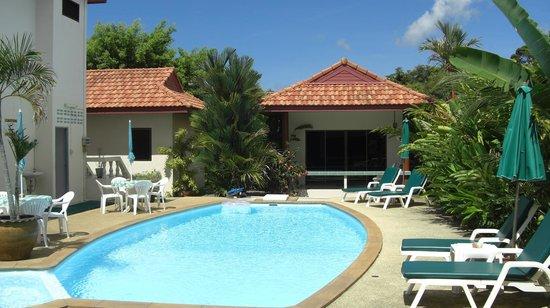 Sansuko Ville Bungalow Resort : Blick von unserem Bungalow
