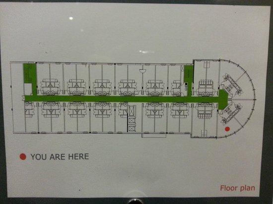 Holiday Inn Salisbury Stonehenge: floor plan