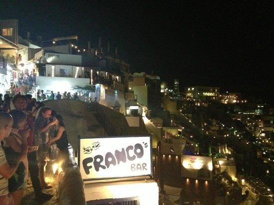 Franco's Bar: by night