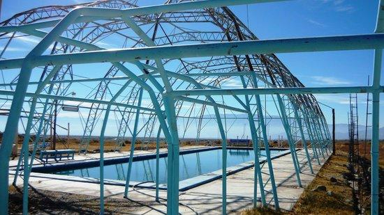 Hotel Termas Pismanta & Spa: fabulosa estructura e infraestrustura alrededor de la piscina ...desaprovechada en invierno!...
