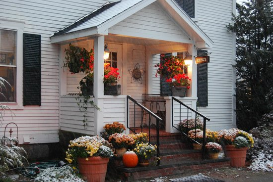 Beautiful autumn colours at the Inn at Weston