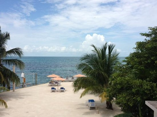 Iguana Reef Inn : View from room 12