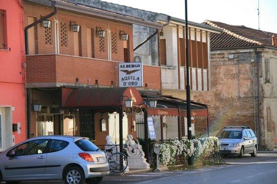 Codigoro, Italy: Fronte dell'Albergo