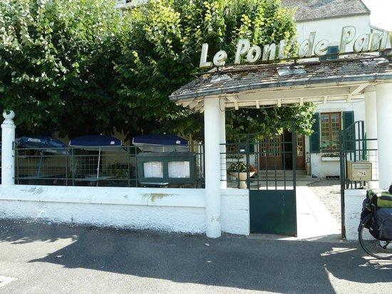 Pont-de-Pany, Frankrig: Terrasse très agréable