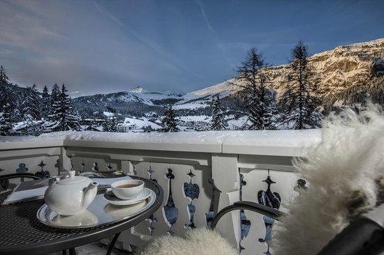 Romantik Hotel Schweizerhof: Zimmeraussicht